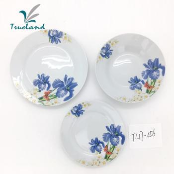 Asian Import & Export Turkish Cheap Ceramic Plates Design