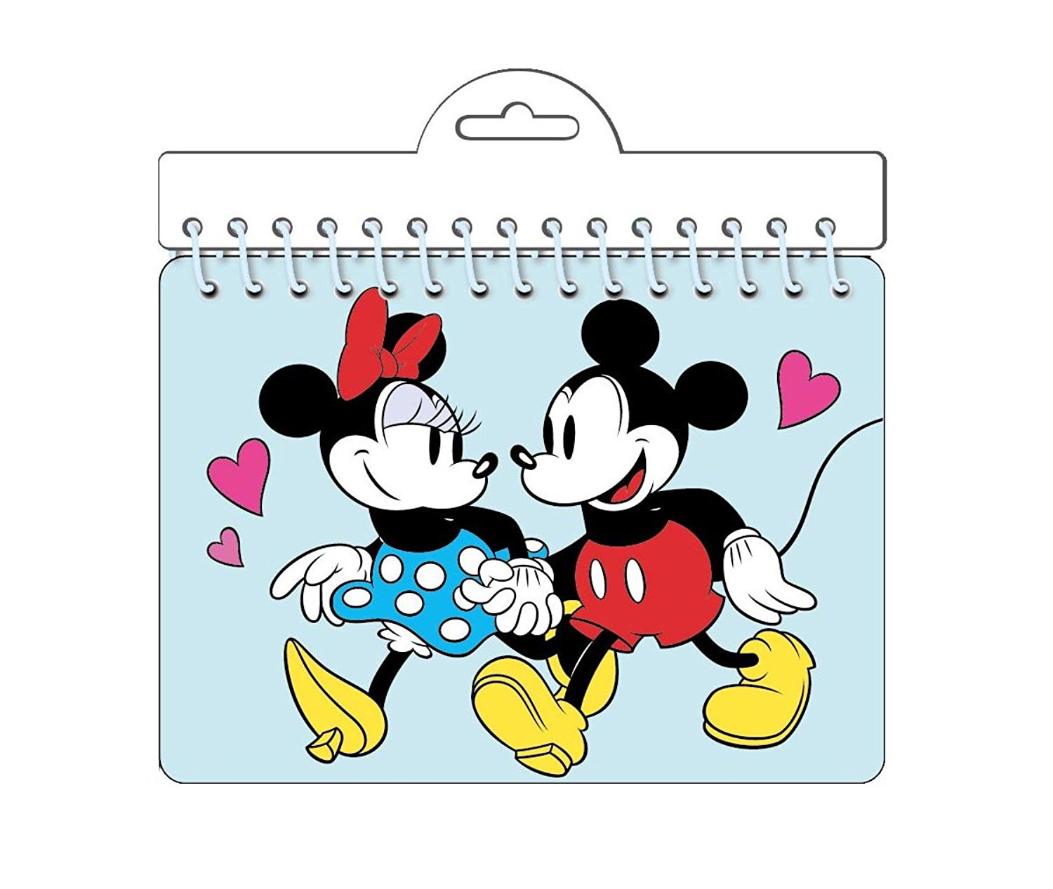 Disney Minnie & Mickey Mouse Classic 'Holding hands' Autograph Notebook