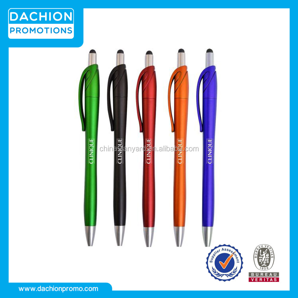 Logo printed Satin Finish Modern Stylus Pen
