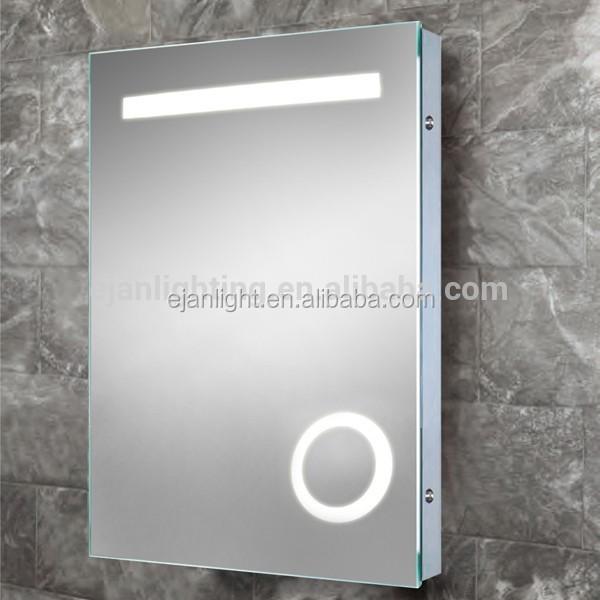 Model EMI03 Bathroom No Fog Free Fogless Shower Mirror With Heated Pad