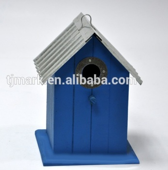 Christmas gift wooden bird house indoor & outdoor bird feeder