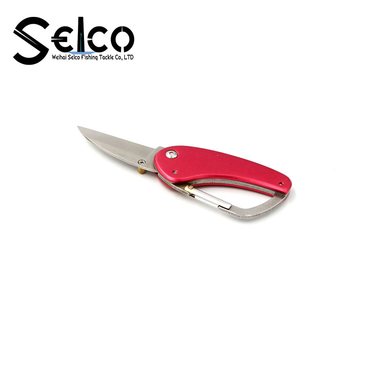 Wholesale Top Quality Stainless Steel Pocket Folding Fishing Knife