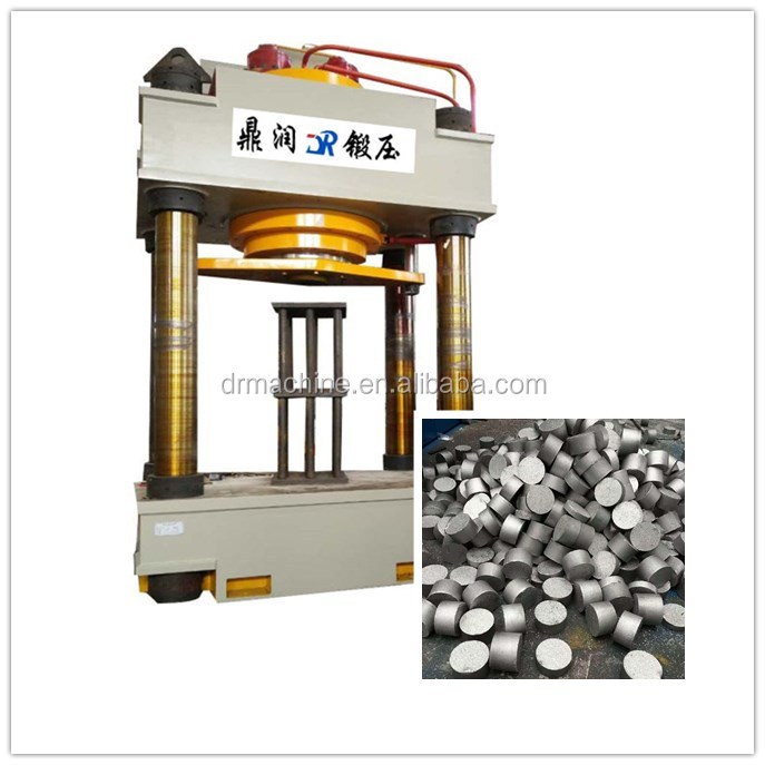 Hot sale YQ32-1000 ton four column hydraulic iron briquette block press machine price