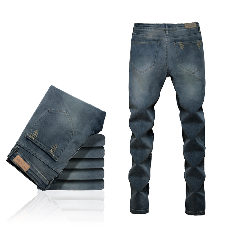 1738c70c8ef4c4 Get Quotations · Free shipping USA fashion men modern brand designer denim  men's new grinding white baggy jeans pants