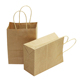 OEM Wholesale Custom Luxury Gift Craft Shopping brown Kraft Paper Bag with Handle
