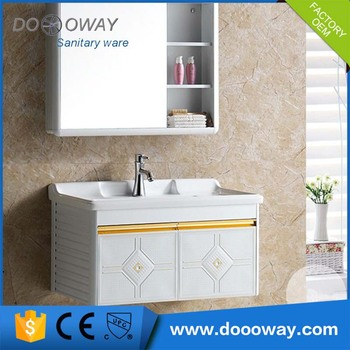sanitary ware bathroom plastic ready washbasin built furniture cabinets to assemble canada