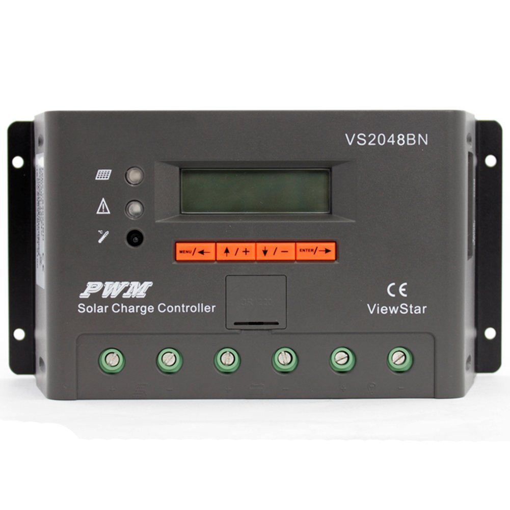 Cheap 12v Battery Charging Circuit Find Picture Of Solar Get Quotations Riorand 20a 12 24 36 48v Pwm Charge Controller With Lcd Display