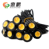 high brightness auto car 3W strobe eagle eye led with 3 wires