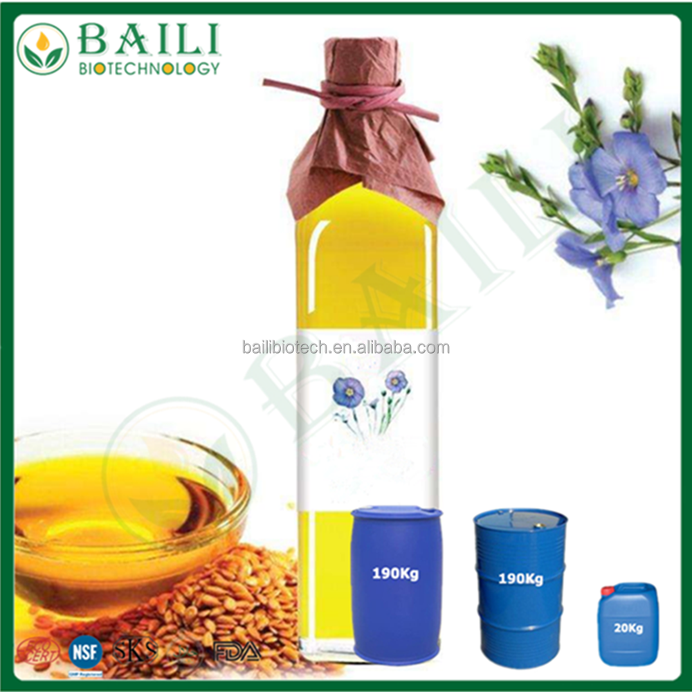 Fine extract Flaxseed Oil vegetable oil