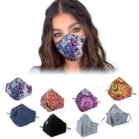 fashion washable n99 anti odor cotton mouth air face mask