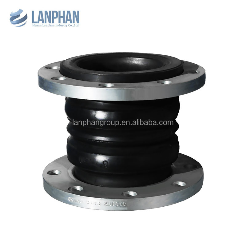 fashionable vulcanized single ball epdm rubber flexible joint dimensions