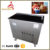 Commercial Temperature Adjusted Double Flat Pan Instant Making Thailand Stir Fry Ice Cream Roll Fried Ice Cream Machine