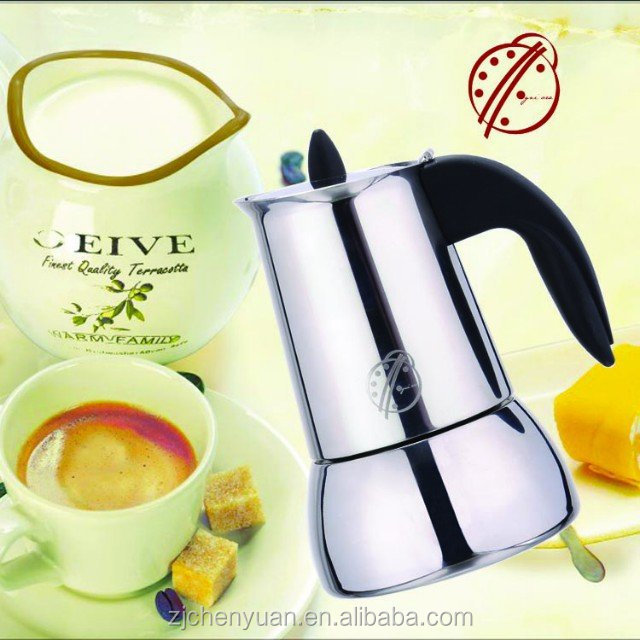 OgniOra top quality vacuum Stainless Steel Coffee Maker Machine roasted arabica coffee beans