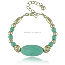 Boutique handgemaakte kralen turquoise ketting <span class=keywords><strong>armband</strong></span> voor vrouwen