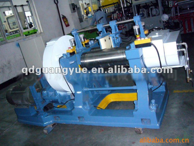18 Two Roll Mill/open Rubber Mixing Mill With Stock