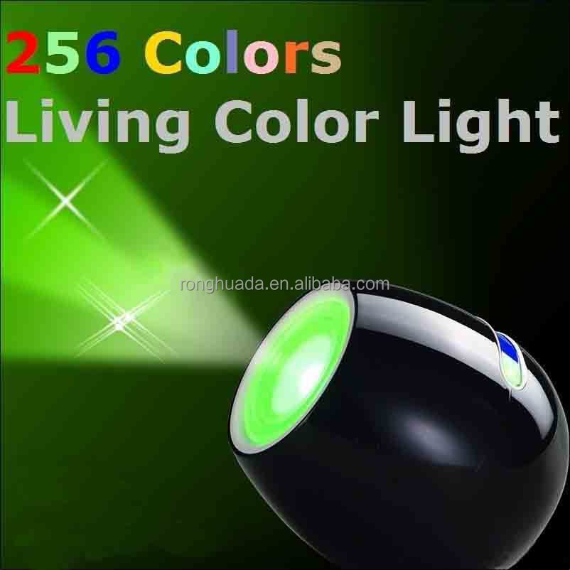 Touching Living 256 Colors LED Light, Bar Design Colorful Mood Light Atmosphere Lamp Projection Night Light