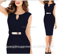 Apparel clothes New Black Red Womens Elegant Slim Office Lady Pencil Bandage Dress Wear