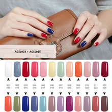 1Pcs Of 24 Colors Gel Nail Polish 15ml Led UV Nail Gel Long Lasting Soak off