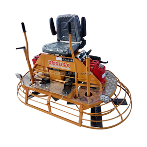 Chinese supplier hand push and drive type concrete screeds power trowel machinery for sale