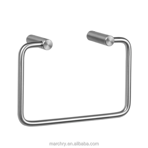 Modern bathroom accessoires set strong bearing towel holder in towel racks