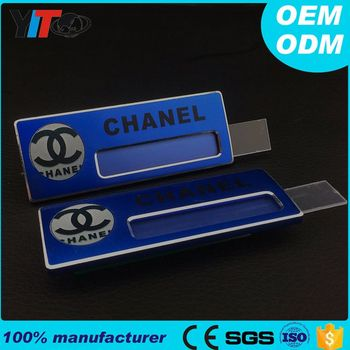 design sample name badges custom logo name badge fashion changeable