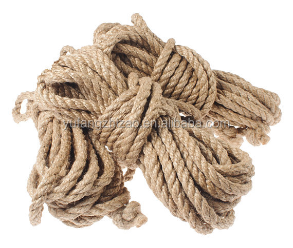 Natural Jute Fiber Twisted Package Rope Jute Twine