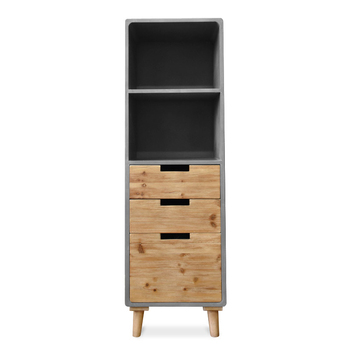 Minimalist LOFT Roomy Living Room Storage Cabinet