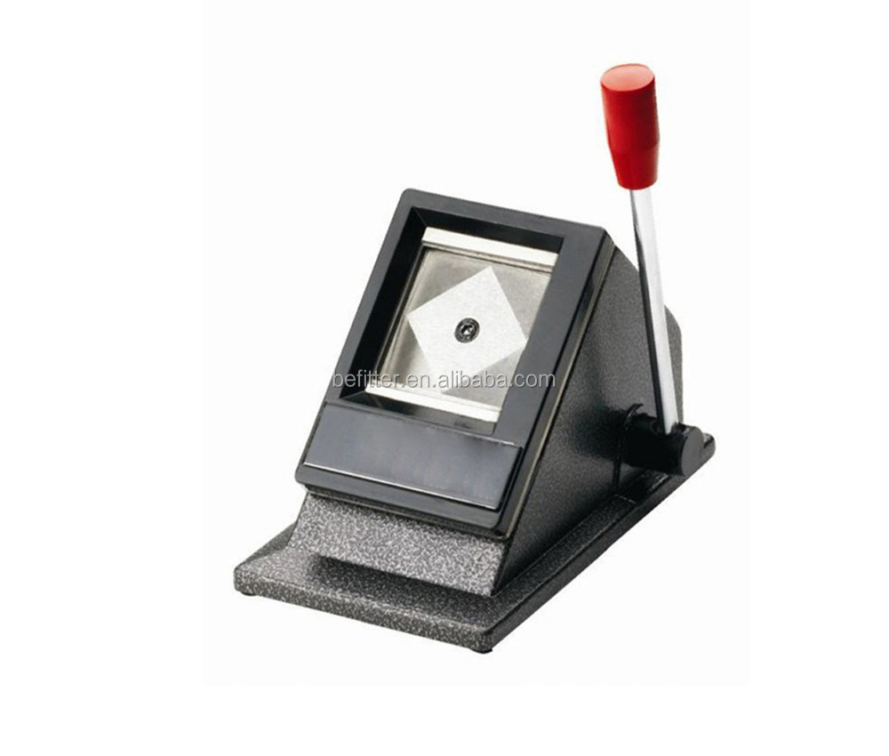 F-002 Table Top ID Card Passport Picture Photo Punch Cutter