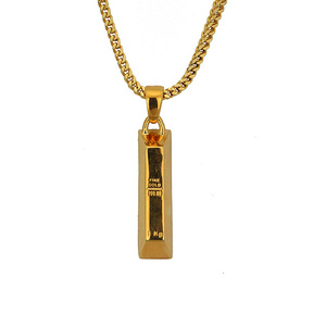 Dubai gold pendant personalized necklace tanishq gold plated pendant designs