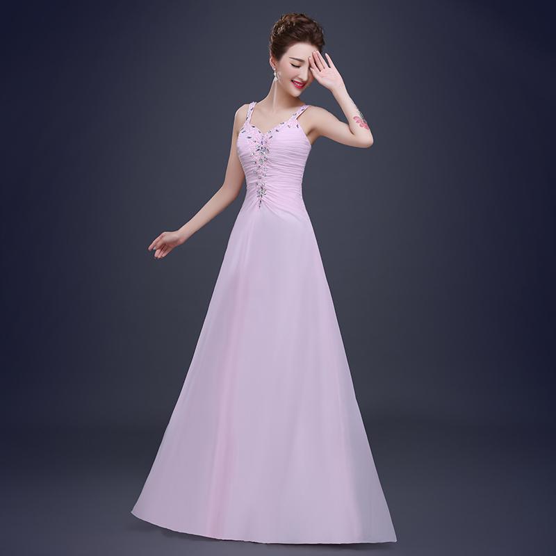 Venta caliente estilo occidental boda del rosa vestido de ...
