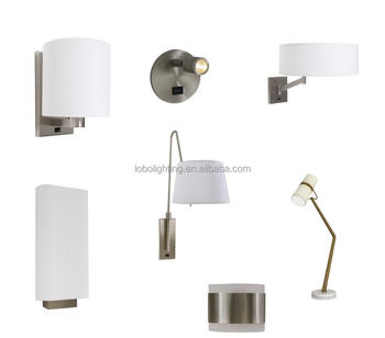 UL lowest price best selling hotel lighting with electrical power outlet and USB port