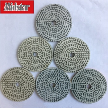 Flexible Marble Wet Diamond Polishing Pad for Grinding Machine