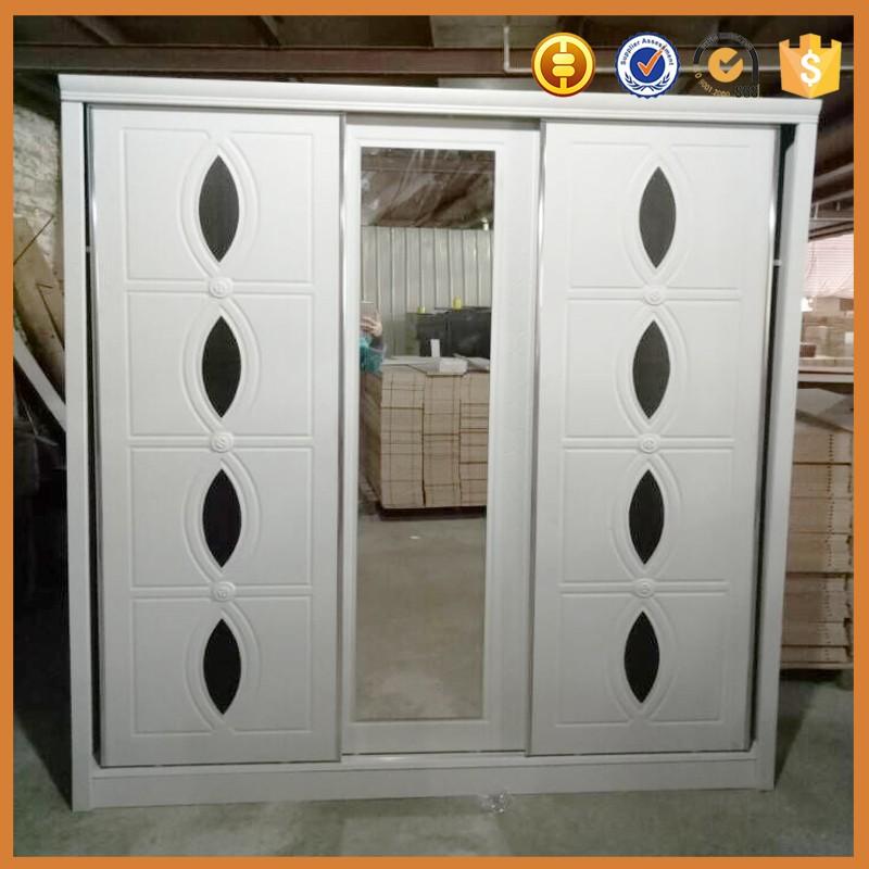 Factory OEM Customized Wooden Particle Board Wardrobe Sliding Door ...
