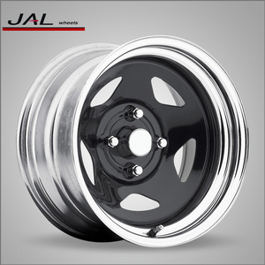 Chrome Spoke 4x4 Steel Wheels 5x114.3 Rims for Jeep with Rivets