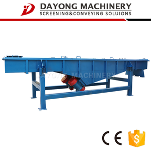 automatic higher sieving ratio sand shaker screen