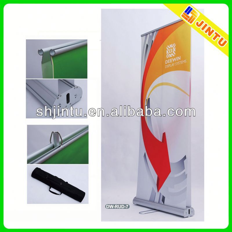 produce digital roll up banner with sublimation printing