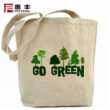 2019 Causal Tote Bag Custom Printed Cloth Bag Custom Logo