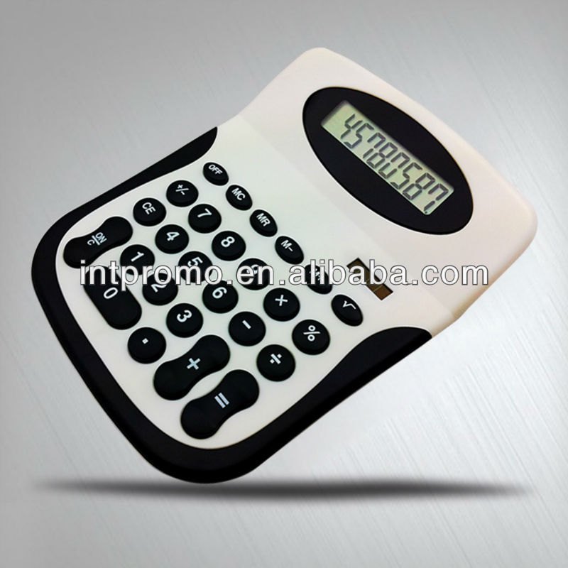 8 digits plastic promotion desktop calculator