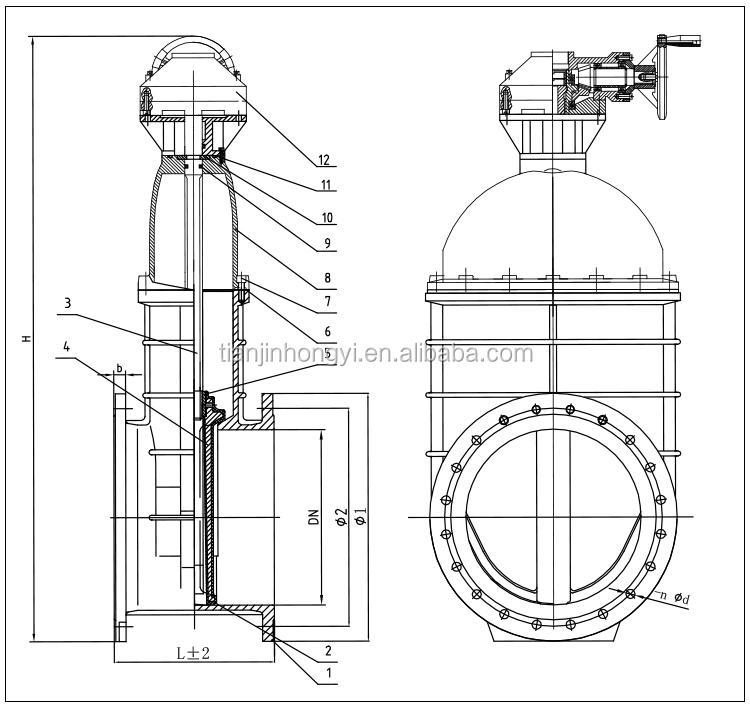 42 Inch Sulice Resilient Gate Valve Gearbox - Buy Gate Valve,42 Inch Gate  Valve,Sulice Resilient Gate Valve Product on Alibaba com