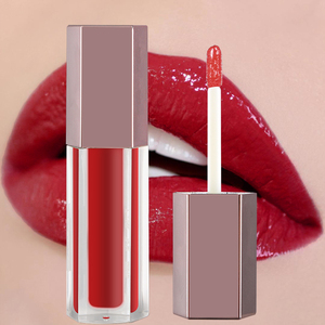 Custom private label lip gloss packaging natural cosmetics your own logo lipgloss