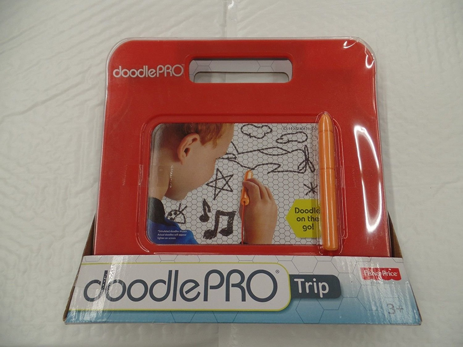 (Ship from USA) Fisher-Price- Doodle Pro Trip- Red- BNIB- Etch a Sketch /ITEM#H3NG UE-EW23D132085
