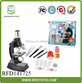 Education Plastic Toy 900X Microscope Toykids