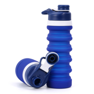 2018 Hot Items of Silicone Drinking Collapsible Water Bottle/ Foldable Sports Water Bottle