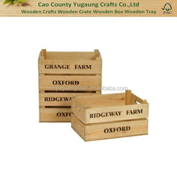 2016 Customized Logo Wood Crate Mini Wooden Crates Wholesalesmall Wood Gift Crate Buy Distressed Wood Cratewooden Mini Crateswood Fruit Crates