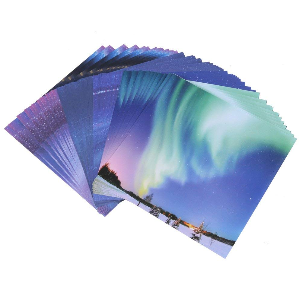 Notebooks & Writing Pads Scrapbooking Origami Paper Art Background Universe Planet Moon Paper Card Making Diy Craft