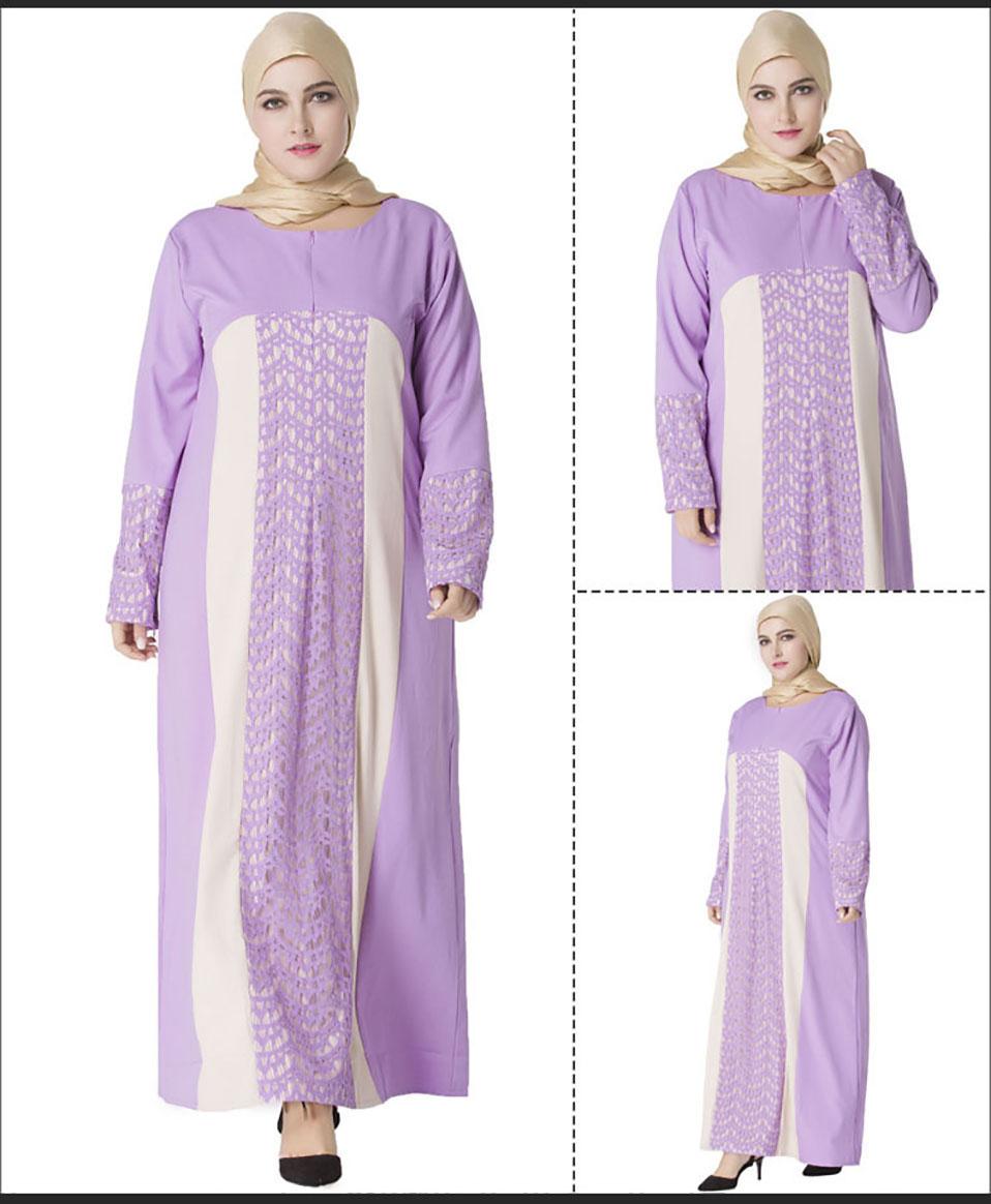 2019 Plus Size Muslim Women Clothing Abayas Online Uk Modest Dresses ...