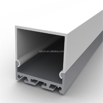 Suspended Aluminum Led Pendant Light Profile For Architectural ...