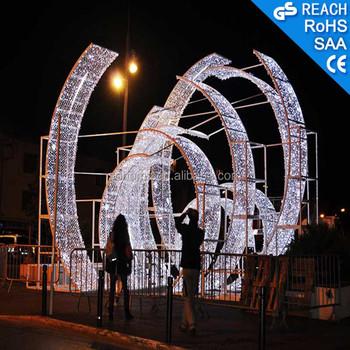 Outdoor Street Led Arch Christmas Light Decor,Led Motif Lighting ...