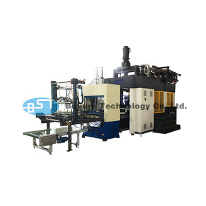 BST Biodegradable Bagasse Pulp Tableware Plate Making Machine Disposable  Paper Dish Making Machine