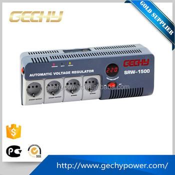 1500va Socket Type Led House Atomatic Ac Voltage Regulator ...
